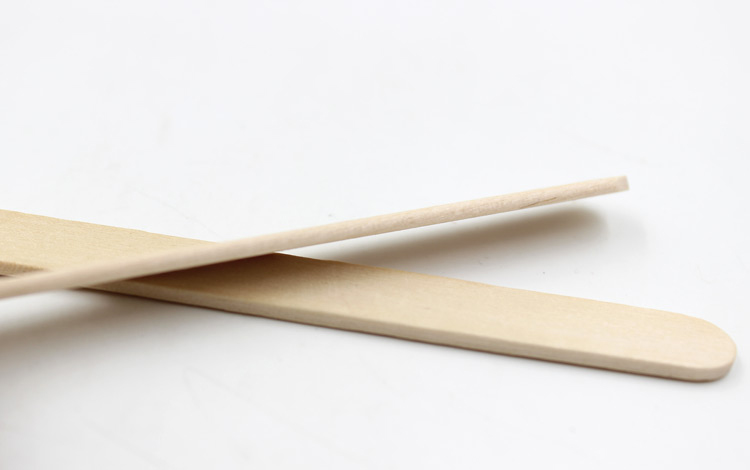 50pcs Popsicle Stick Birch Wood Sticks Ice-lolly Wooden Stick, Angle Edge Length 140mm Ice Pop Stick good feedback high quality machine for popsicle ice lolly machine