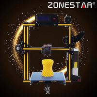 Zonestar 3D Printer Full Metal Aluminum Frame Auto Leveling Filament Run out Detect 3 d Printer Optional Dual Or Mixed Color