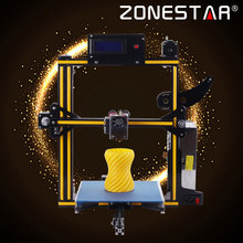Zonestar 3D Printer Full Metal Aluminum Frame Auto Leveling Filament Run-out Detect 3 d Printer Optional Dual Or Mixed Color