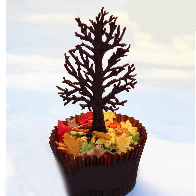 Trockenen Baum Design 3d Kuchen Grenze Silikon Form Fur Fondant