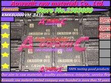 اختبار Aoweziic 100% جودة جيدة KMK8U000VM B410 رقاقة الذاكرة بغا KMK8U000VM B410 (قراءة المنتج الكتابة أمر طبيعي)