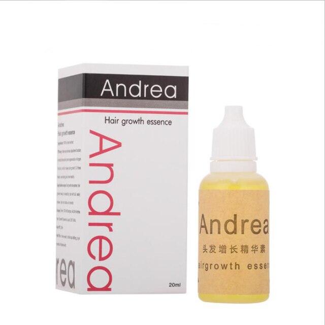 Andrea el crecimiento del cabello aceite de planta Natural fórmula el crecimiento del cabello esencia líquido puro de la pérdida del Anti-pelo promover el crecimiento del cabello 20 ml/unid