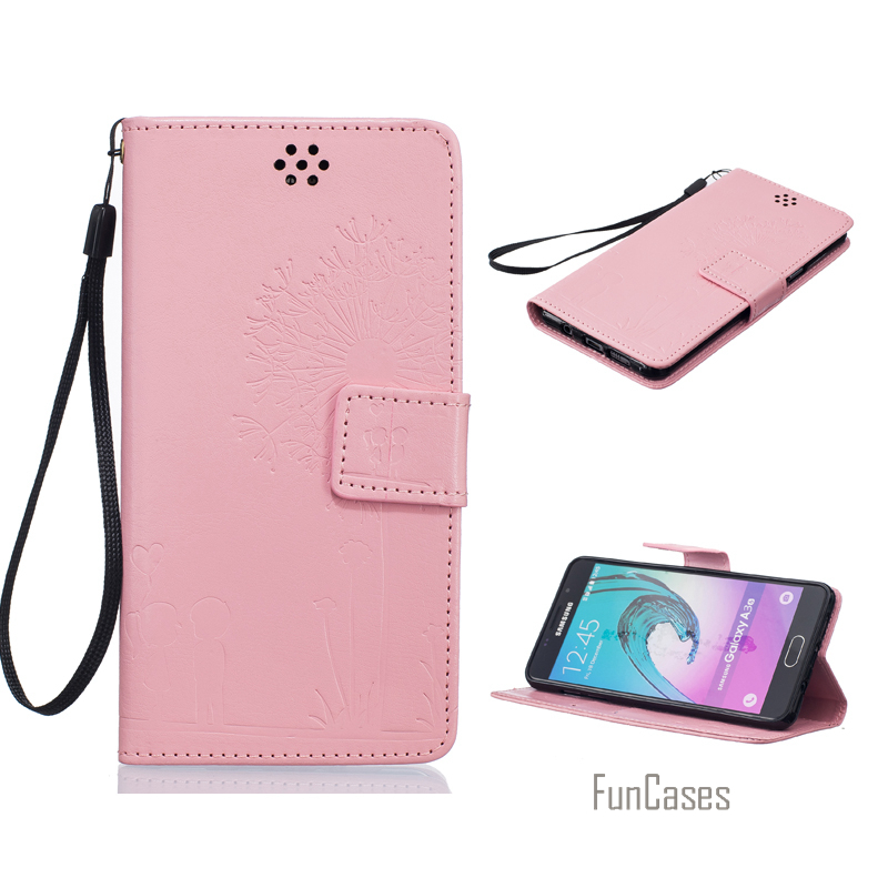 Embossed Flip Case for fundas LG K7 X210 X210DS MS330 Cover Case for coque LG K7 Dual SIM Case 5 inch + Stand Card Holder