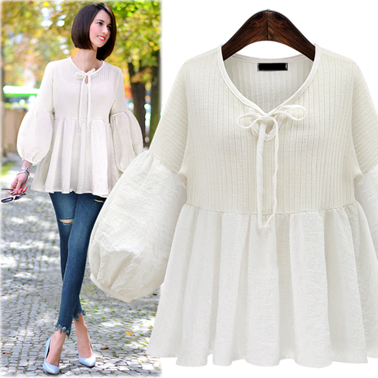 Popular White Peplum Blouse-Buy Cheap White Peplum Blouse lots ...