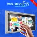 Реклама дисплей 10.1 дюймов IPS ЖК-монитор с сенсорным экраном с DVI интерфейс 4-проводной резистивный open frame сенсорный жк-монитор