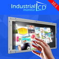 Advertising display 10.1 inch IPS  LCD touch screen monitor with DVI interface 4-wire resistive open frame lcd touch monitor