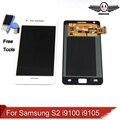 Para samsung galaxy s2 i9100 i9105 lcd pantalla táctil digitalizador asamblea envío gratis