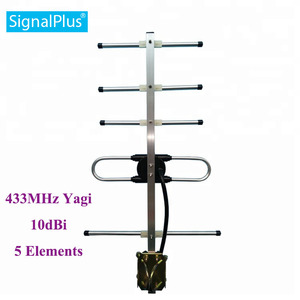 Image 1 - rf yagi antenna cdma Yagi 5 units 10DBI 433MHZ antenna Outdoor Yagi antenna with 30cm cable.