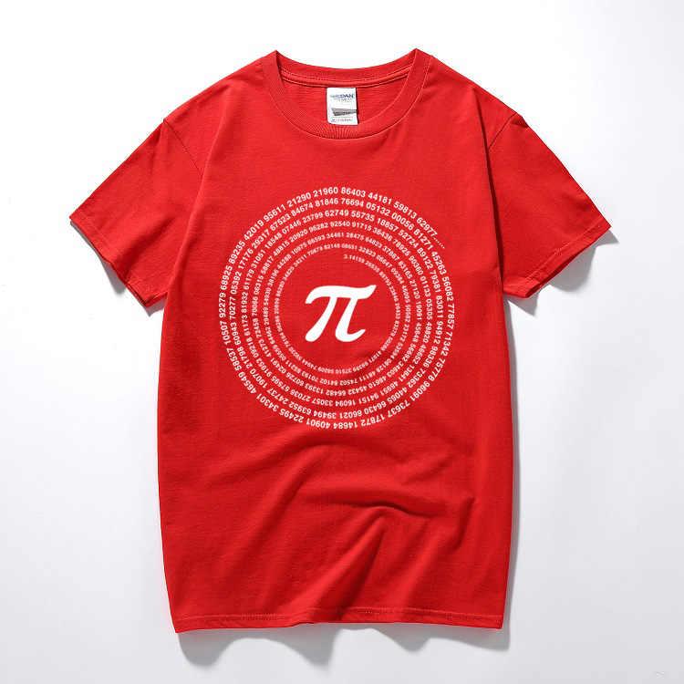 RAEEK Yenilik Pi Matematik T shirt erkek Pamuk Gevşek Kısa Kollu Tee gömlek Geek Tarzı T shirt Inek Rahat Erkek t-shirt Tops