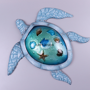 Image 4 - Turtle Metal Wall Artwork for Garden Decoration Outdoor Statues and Animal Miniatures Accessories Sculptures