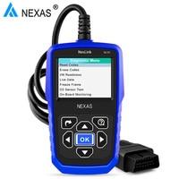 Original Nexlink NL101 OBDII EOBD CAN Universal Automotive Scanner Engine Error Diagnostic Tool With Battery Power