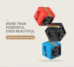 2018 SQ11 HD 1080P Mini Camera Night Vision Mini Camcorder Sport Outdoor DV Voice Video Recorder Action Camera Support TF Card