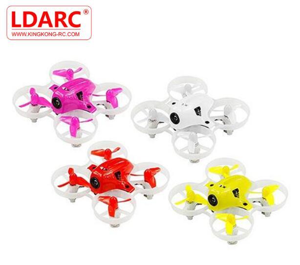 جاهزة في الأسهم KINGKONG/LDARC صغيرة 6X65 ملليمتر مايكرو FPV سباق Drone البسيطة RC Quadcopter W/ 716 نحى المحركات VS صغيرة 6 7-في قطع غيار وملحقات من الألعاب والهوايات على  مجموعة 1