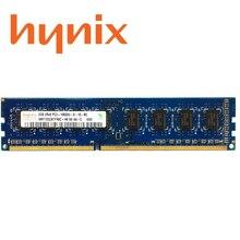 شرائح Hynix للكمبيوتر المكتبي 2GB 4GB 8GB PC2 PC3 DDR2 DDR3 800Mhz 1066Mhz 1333Mhz 1600Mhz DIMM وحدة الذاكرة 1333 1600 800 mhz RAM