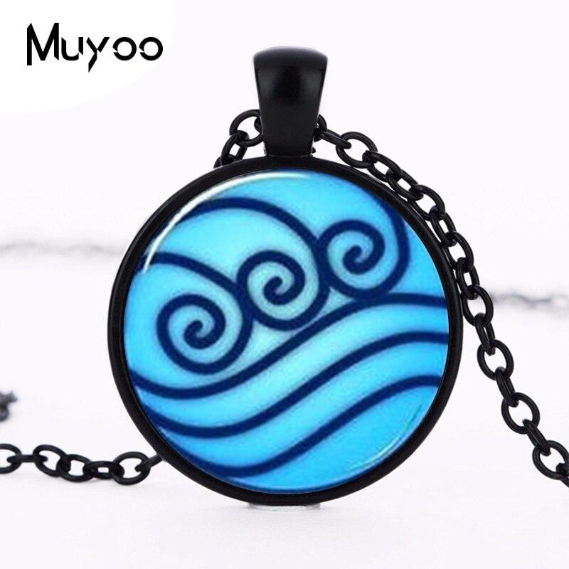 Avatar the Last Airbender Legend of Korra Water Tribe Handmade Necklace silver Pendant steampunk Jewelry Gift women chain HZ1