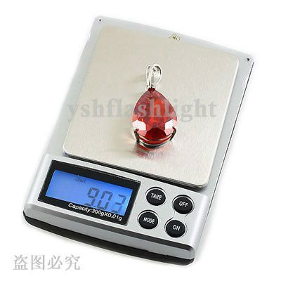 YM Free Shipping 10pcs Portable Pocket Electronic Digital Diamond Jewelry Gem Scale, Weight Range 0.1g~ 1000G
