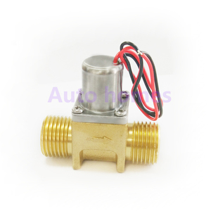 Image 4 - Brass G1/2 inch miniature Induction sanitary ware bistable water control pulse solenoid valve, energy saving valve