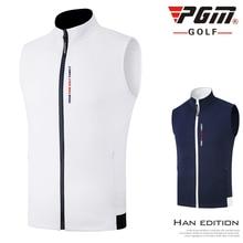Pgm мужская жилетка для гольфа на молнии, спортивные куртки без рукавов для гольфа/тенниса, мужской ветрозащитный жилет D0576