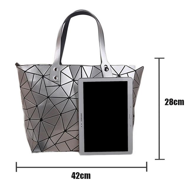 Fashion Diamond Summer bag large Quilted ladies Handbag bag female Geometric tote Laser woman shoulder bags designers brand