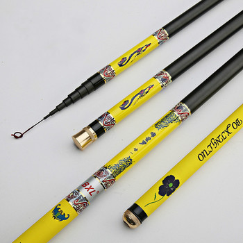 High Carbon Stream Rod 28 Tune 3.6-7.2 Meters Ultra Light Super Hard Short Section Portable Fishing Rod Cane Olta Fishing Tackle