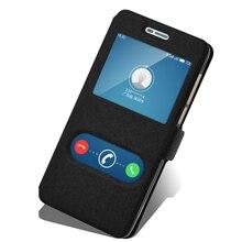 ИСКУССТВЕННАЯ Кожа + ТПУ Чехол для Highscreen Мощность Пять Про телефон чехол для Highscreen Мощность 5 Pro