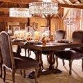 Новый Современный хрустальный светильник для люстры  круглый светодиодный подвесной светильник для гостиной  столовой  ресторана  домашне...