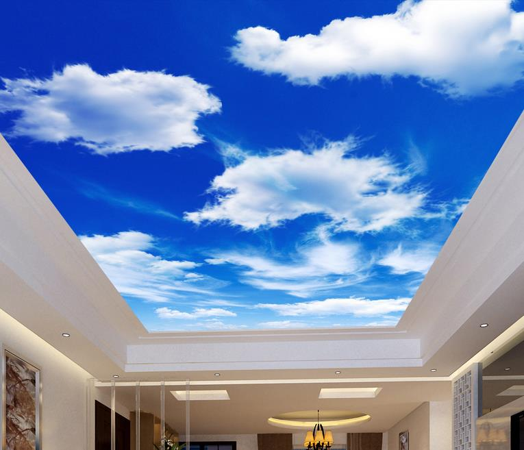 Compare prices on blue sky mural online shopping buy low for Custom mural cost