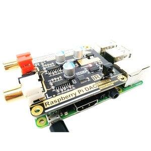 Image 5 - Volumio moode פטל Pi DAC פטל Pi 3B + HIFI הכפול DAC פענוח I2S עם 5V DC כוח פסק אספקת F6 006