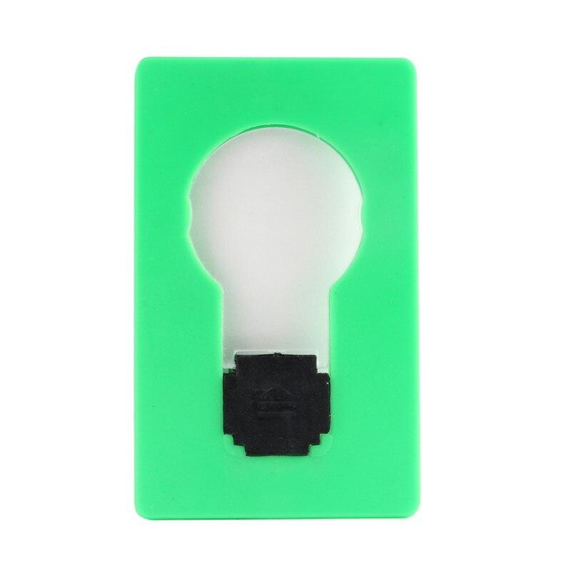 Mini Portable USB Mini LED Night Light Pocket Card Lamp Bulb Night Light
