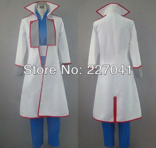 Gintama Yagyu Kyubei Cosplay Costume Halloween Cloth Free Shipping