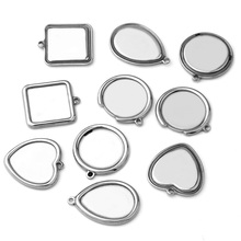 10pcs ( No Fade ) New Drop-shaped Semi-circular Oval Square