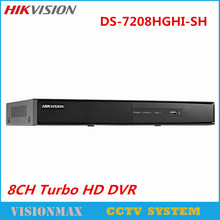Hikvision 8CH CCTV DVR DS-7208HGHI-SH Onvif Turbo Alarm for HD TVI Analog IP Camera 720P realtime Surveillance Video Recorder