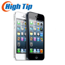 Закрытый ящик 100% завод оригинальное разблокирована iphone 5 apple сотовый телефон 16 ГБ 32 ГБ ROM 16 ГБ 32 ГБ 64 ГБ IOS 4.0 дюймов 8MP WIFI GPS Используется