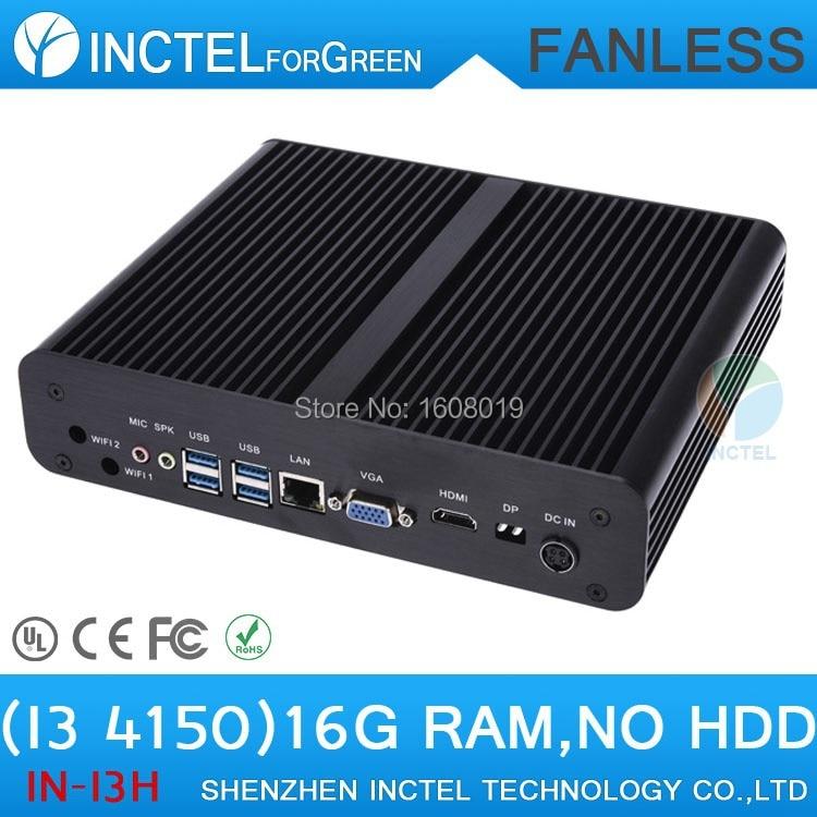 I3 computadora 4150 con Intel Core i3 4150 3.5 Ghz HDMI VGA DP tres display con