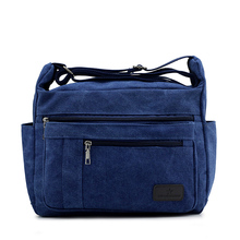 2016 New washed never fade canvas bag shoulder bags Casual Messenger bag  5838
