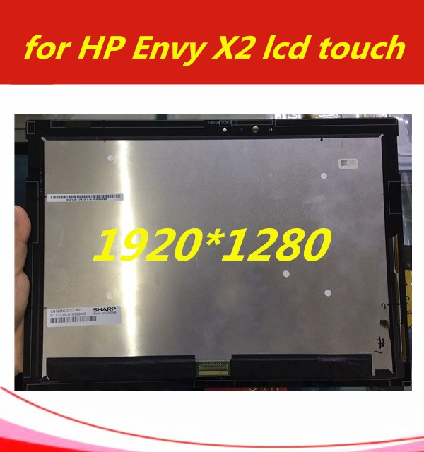 for HP Envy X2 Lcd Screen TV123WAM-ND0 with Touch Digitizer matrix 1920*1280 EDP 40pins 12.3''Lcd Assembly