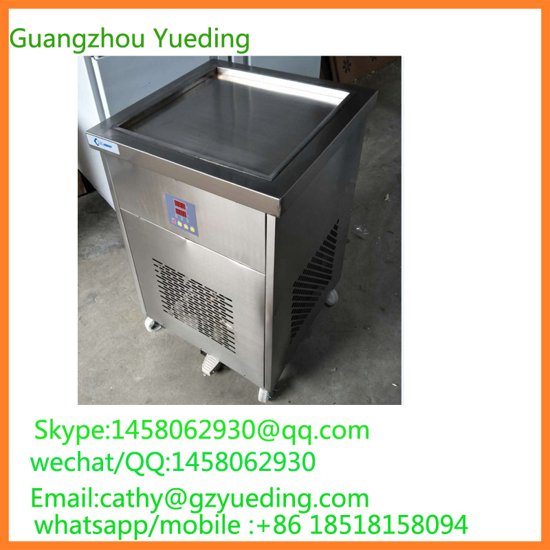 Computer version temperature regulation Golden supplier commercial fried ice cream rolling machine for sale Computer version temperature regulation Golden supplier commercial fried ice cream rolling machine for sale