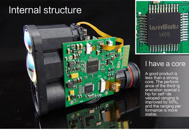 Neue leter meter messung laser entfernungsmesser höhe messung