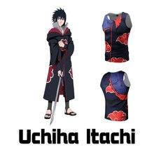 Anime NARUTO Uchiha Sasuke Akatsuki Pain Itachi Deidara Cosplay Carnaval Halloween Costume Coat Trousers Tights Suit