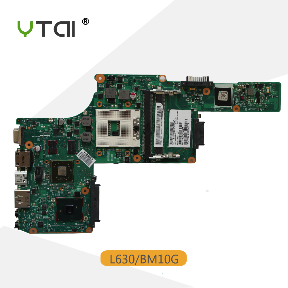 YTAI V000245020 BM10G L630 Mianboard for Toshiba L630 laptop motherboard BM10G PGA989 HM55 V000245020 Mainboard fully tested ytai k42jr rev2 0 hm55 mianboard for asus k42jr a42j k42j x42j laptop motherboard rev2 0 hm55 ddr3 mainboard free shipping