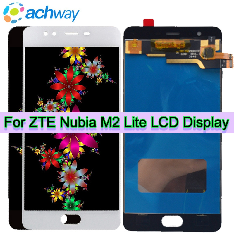 Original Tested Screen ZTE Nubia M2 Lite LCD Touch Screen Digitizer Assembly ZTE Nubia M2 Lite Display Replacement Nubia M2 Lite(China)