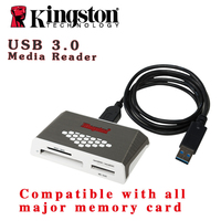 Kingston Fast Speed Write USB3 0 Card Reader UHS I Micro SD SDHC SDXC Memory Stick