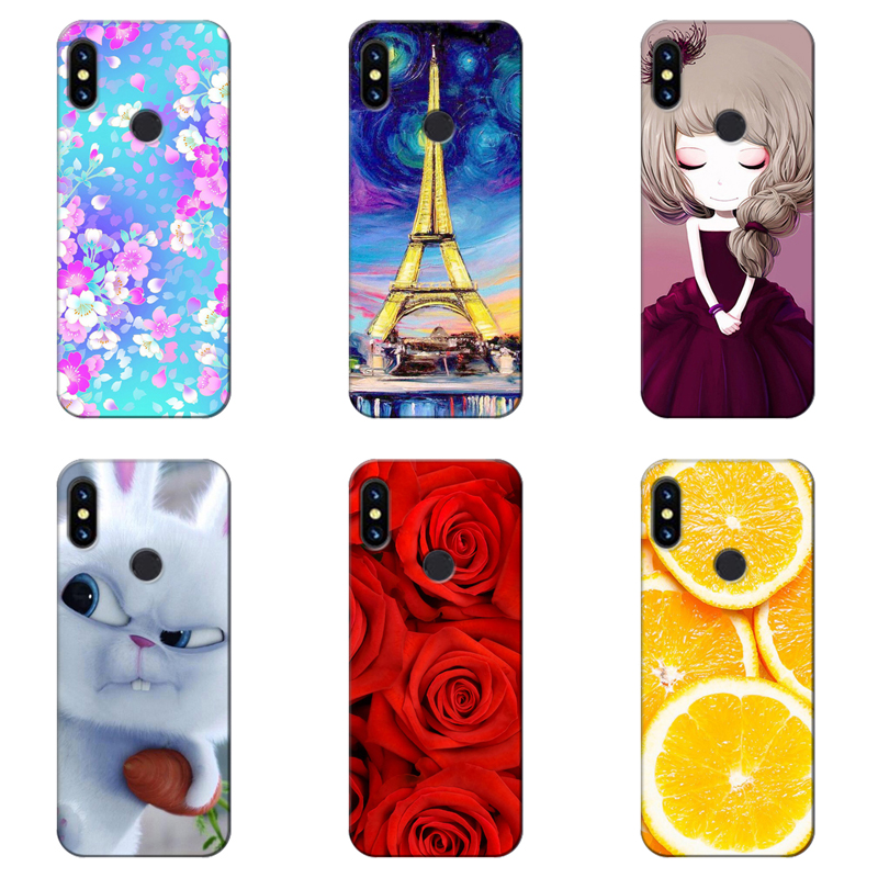 Original Colorful Mobile Phone Cases Cover for Umi UMIDIGI S3 / S3 Pro Full Protective Back Covers Soft TPU Capa Printed Case