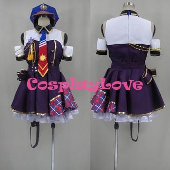 New Custom Made Japanese Anime Love Live! SR UR Kotori Minami Detective Police Awakening Uniform Cosplay Costume Christmas