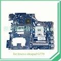 PIWG4 LA-6758P REV 1A Для Lenovo ideapad G770 17 ''Ноутбук материнская плата HD3000 + AMD Radeon HD 6650 М 1 ГБ DDR3 с cpu