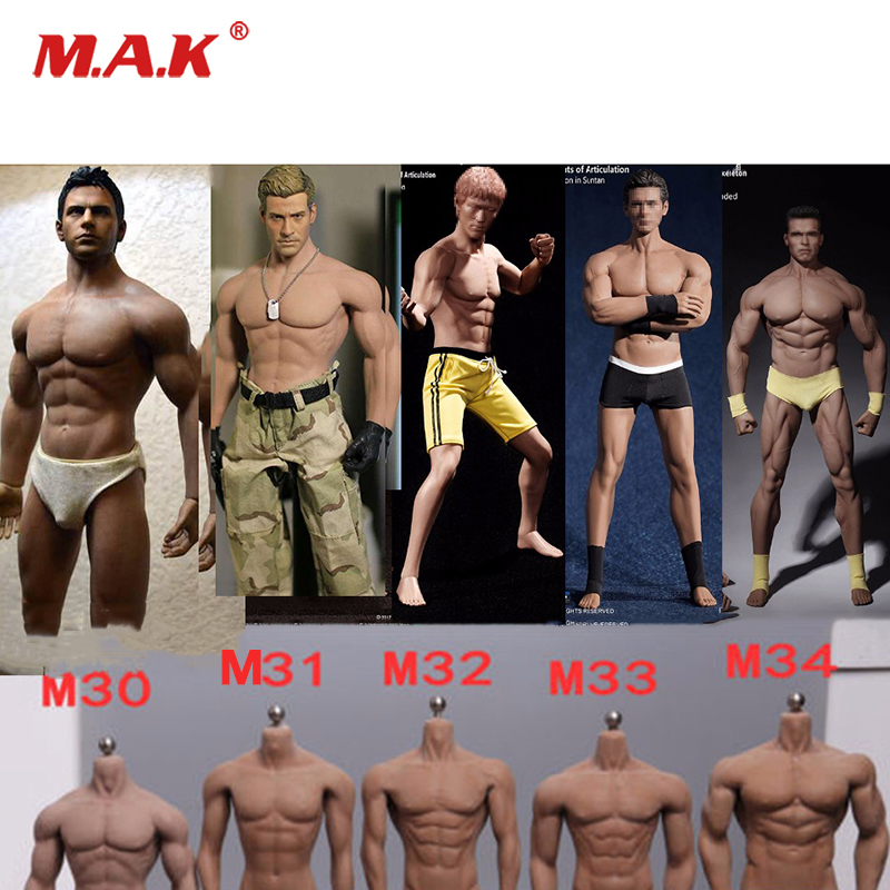 TBLeague M30 M31 M32 M33 M34 1/6 Super-Flexible Action Figure Puppe Seamless Body With Stainless Steel Skeleton Doll body latest style pl2015 m30 1 6 super flexible muscle male body seamless stainless steel action figure for 1 6 male head sculpt