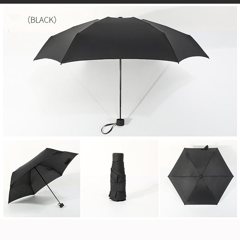 Custom Ostriches Running Compact Travel Windproof Rainproof Foldable Umbrella