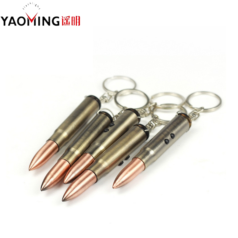En gros MINI lampe de poche porte-clés lampe de poche LED 2 Mode porte-clés porte-clés torche enseignement Laser pointeur lumière stylo lumière pour cadeau