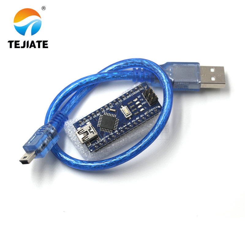 Nano V3.0 controller ATMEGA328P ATMEGA328 originale CH340 + cavo USB