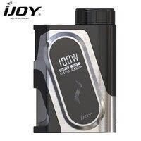 IJOY Cigarette Électronique Mods 100 W Vaporisateur 3000 mAh Batterie Vaporisateur E cigarette Boîte Mod Squonk
